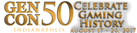 GenCon50 Logo 17th of August 2017