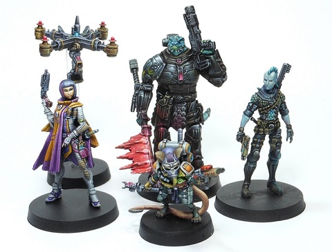 Kickstarter for Starfinder Miniatures by Ninja Division