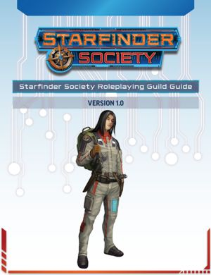 Starfinder Society Role Playing Guide Cover