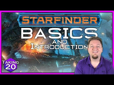 Starfinder Basics: Fast Start and Introduction