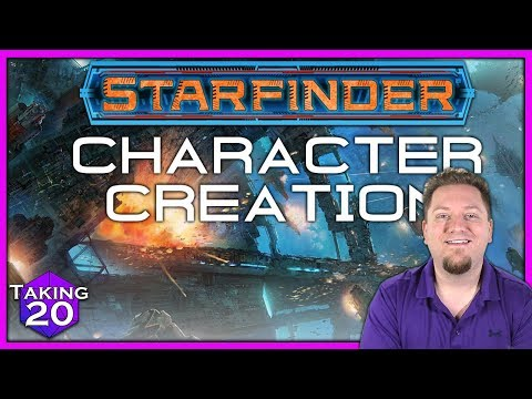 Starfinder Basics: How to Create a Character